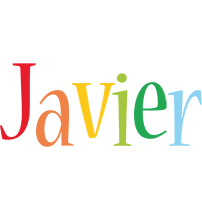 Javier birthday logo