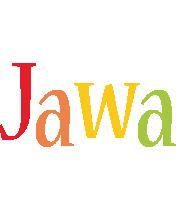Jawa birthday logo
