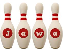 Jawa bowling-pin logo