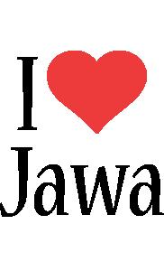 Jawa i-love logo
