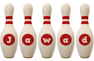 Jawad bowling-pin logo