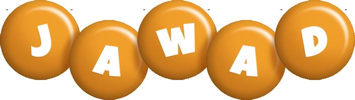Jawad candy-orange logo