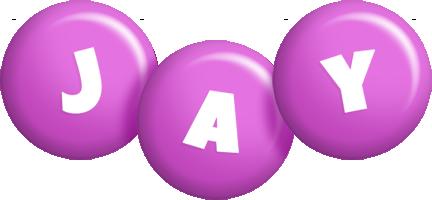 Jay candy-purple logo