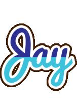 Jay raining logo