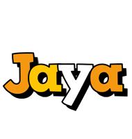 Jaya cartoon logo