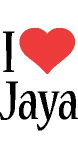 Jaya i-love logo