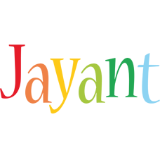 Jayant birthday logo
