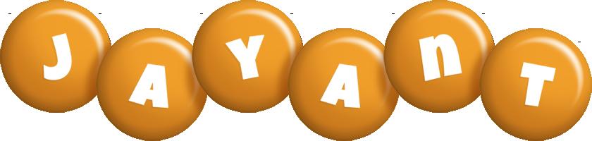 Jayant candy-orange logo