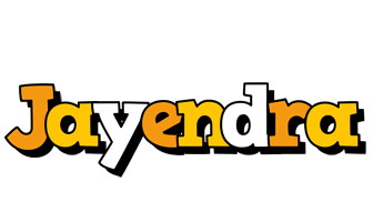 Jayendra cartoon logo