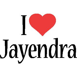 Jayendra i-love logo