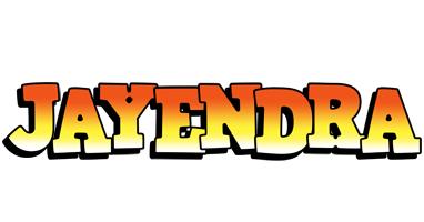 Jayendra sunset logo