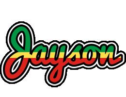 Jayson african logo