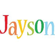 Jayson birthday logo