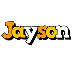 Jayson cartoon logo