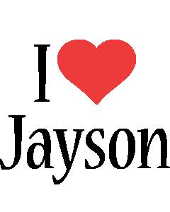 Jayson i-love logo