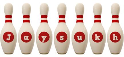 Jaysukh bowling-pin logo