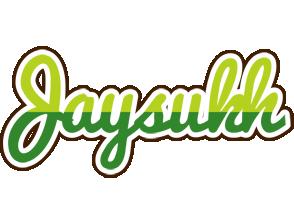 Jaysukh golfing logo