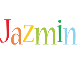 Jazmin birthday logo
