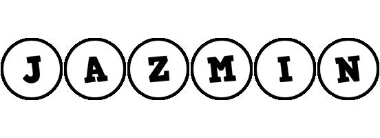 Jazmin handy logo
