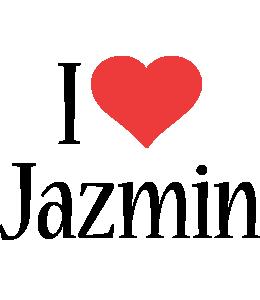 Jazmin i-love logo