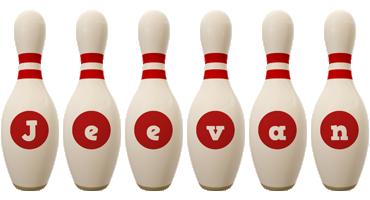 Jeevan bowling-pin logo