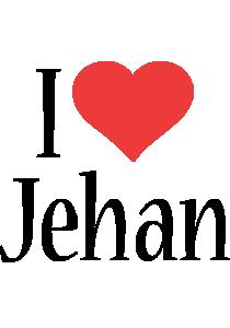 Jehan i-love logo
