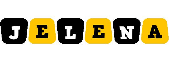 Jelena boots logo
