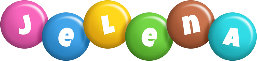 Jelena candy logo