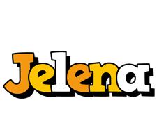 Jelena cartoon logo