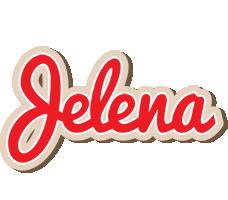 Jelena chocolate logo