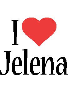 Jelena i-love logo