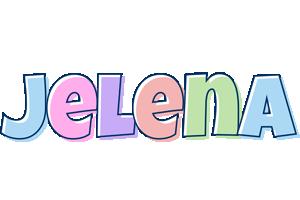 Jelena pastel logo