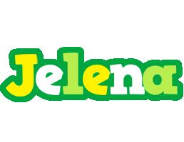 Jelena soccer logo