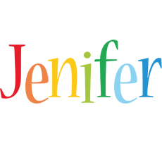 Jenifer birthday logo