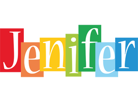 Jenifer colors logo