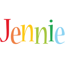 Jennie birthday logo