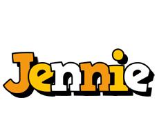 Jennie cartoon logo