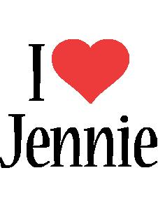 Jennie i-love logo