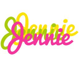 Jennie sweets logo