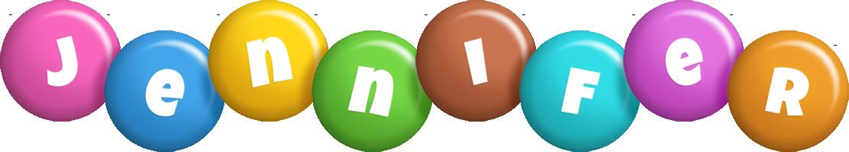Jennifer candy logo