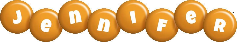 Jennifer candy-orange logo