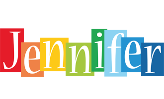 Jennifer colors logo