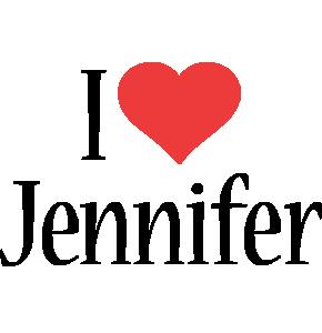 Jennifer i-love logo