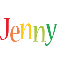 Jenny birthday logo