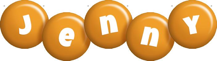 Jenny candy-orange logo