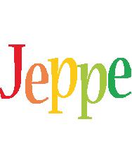 Jeppe birthday logo
