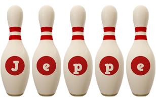 Jeppe bowling-pin logo