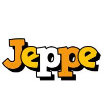 Jeppe cartoon logo