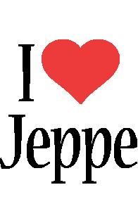 Jeppe i-love logo