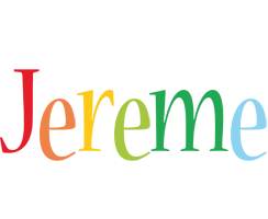 Jereme birthday logo